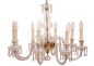 Preview: Murano chandelier crystal chandelier