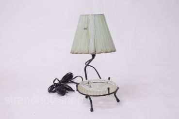 Rockabilly lamp table lamp with ashtray