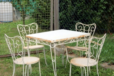 Chair garden chair France table set with chairs garden terrace balcony free shipping in Germany