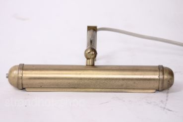 Picture lamp light wall lamp adjustable 70s vintage brass