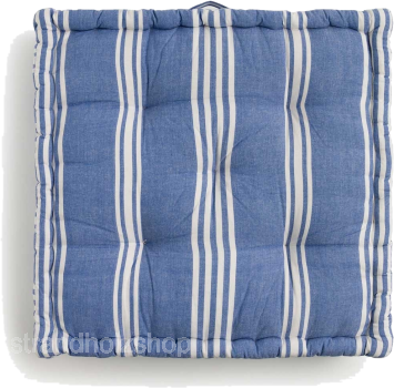 Floor cushion Rodas Blue - 60x60x13 cm -