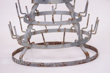 Antique Bottle Dryer & If Bottle Cage Marcel DuchampHeight 58cm