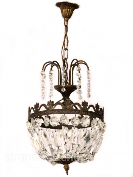 Chandelier Lamp Art Deco  Ceiling Lamp Crystal  France # 3
