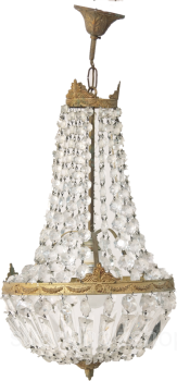 Chandelier Crystal Lamp Art Deco Chandelier Ceiling Lamp France