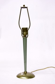Lamp Lamp Base Art Deco Green 70s