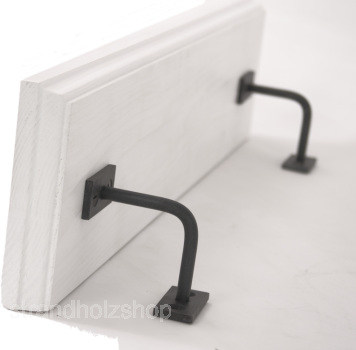 Wooden shelf with profile edge 76cm