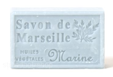 Savon de Marseille Marine 125 gr soap natural soap sea breeze France Provence Wellness