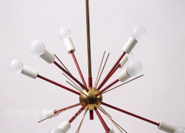 Stilnovo chandelier living room light Sputnik lamp 1950 Vintage