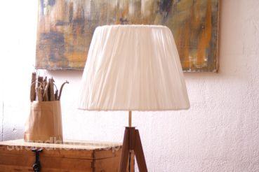 Floor Lamp Tripot Lampe Retro Three Legged Wood 50er 60er Design Lamp