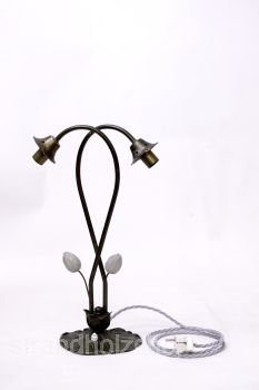 Lamp Floor Lamp Tulips Art Deco