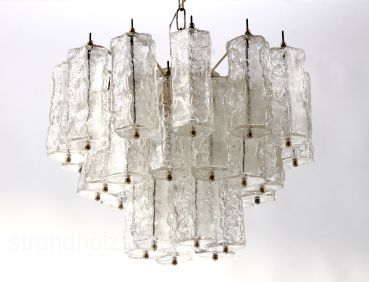 Chandelier from Venini Italy ca1960 lamp