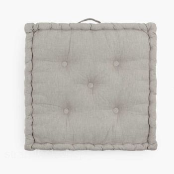 Floor cushion TAPICERO gray 60x60 cm