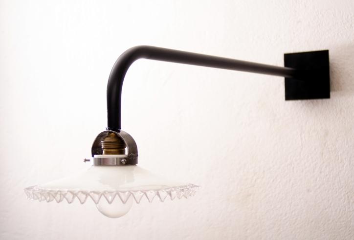 wandlampe auslegerlampe galgenlampe industrie werkstatt. Black Bedroom Furniture Sets. Home Design Ideas