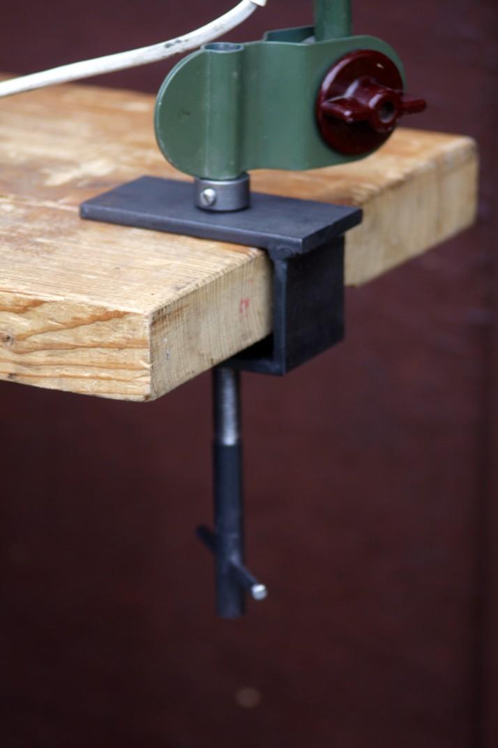 Werkstatt schreibtisch for Metallmobel design