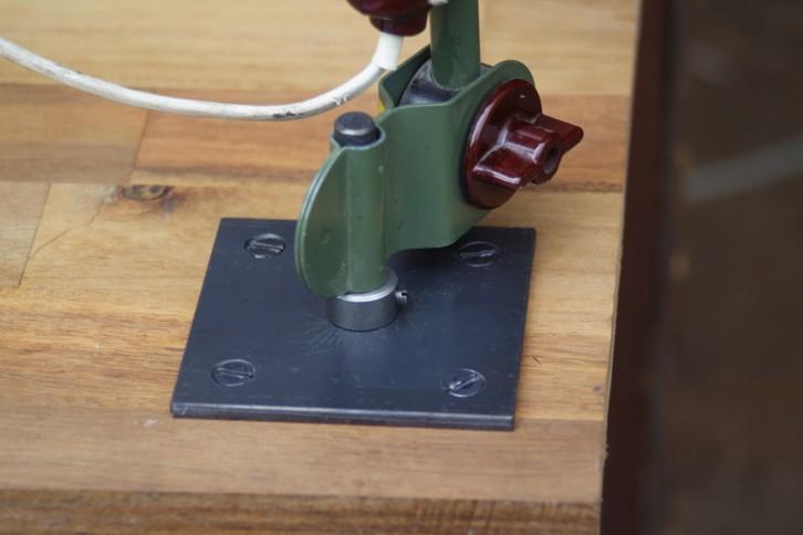 Support de table pour les anciens lampe de bureau atelier lampe
