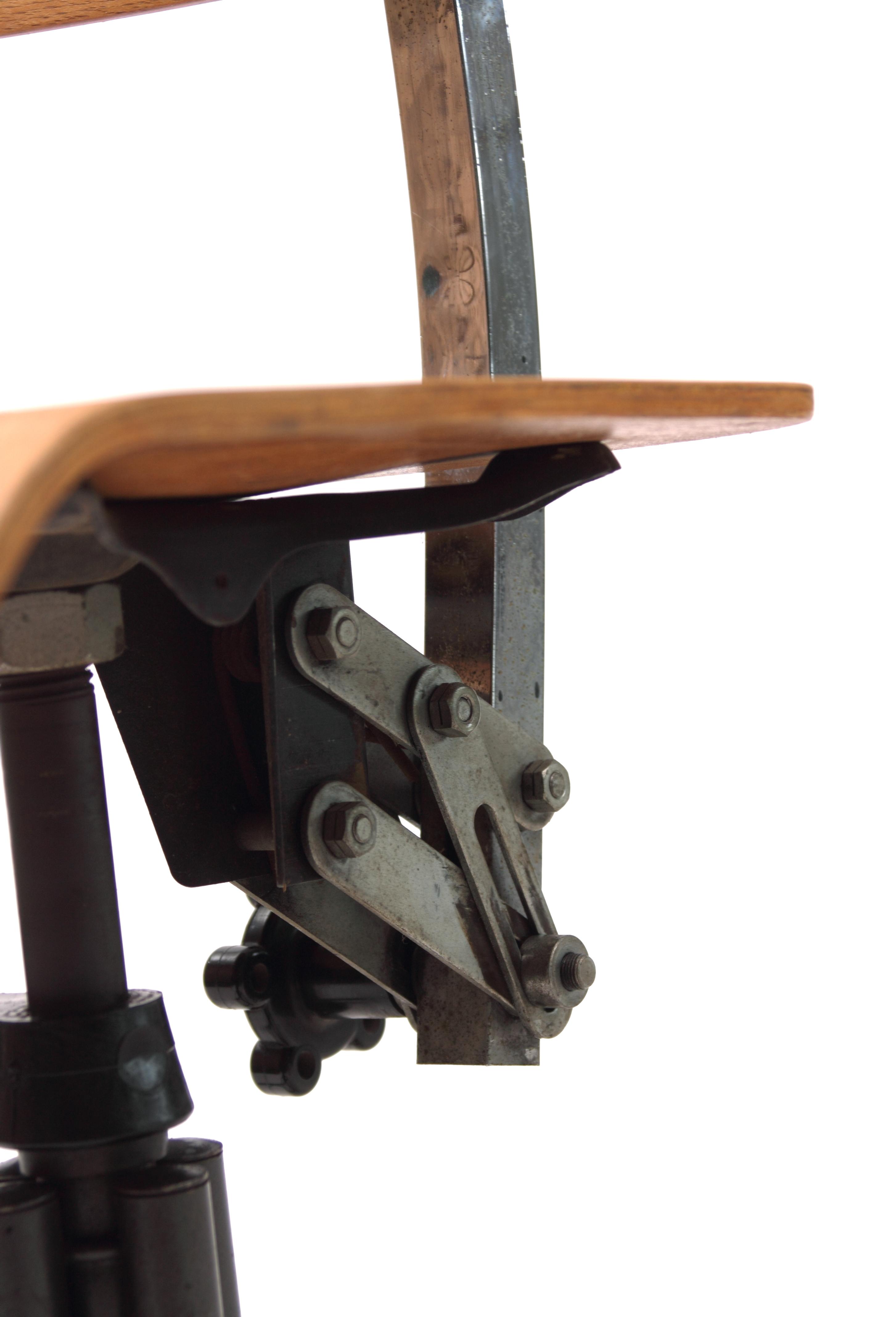 Bienaise Mod 232 Le 235 Chaise Pivotante Chaise Industrielle