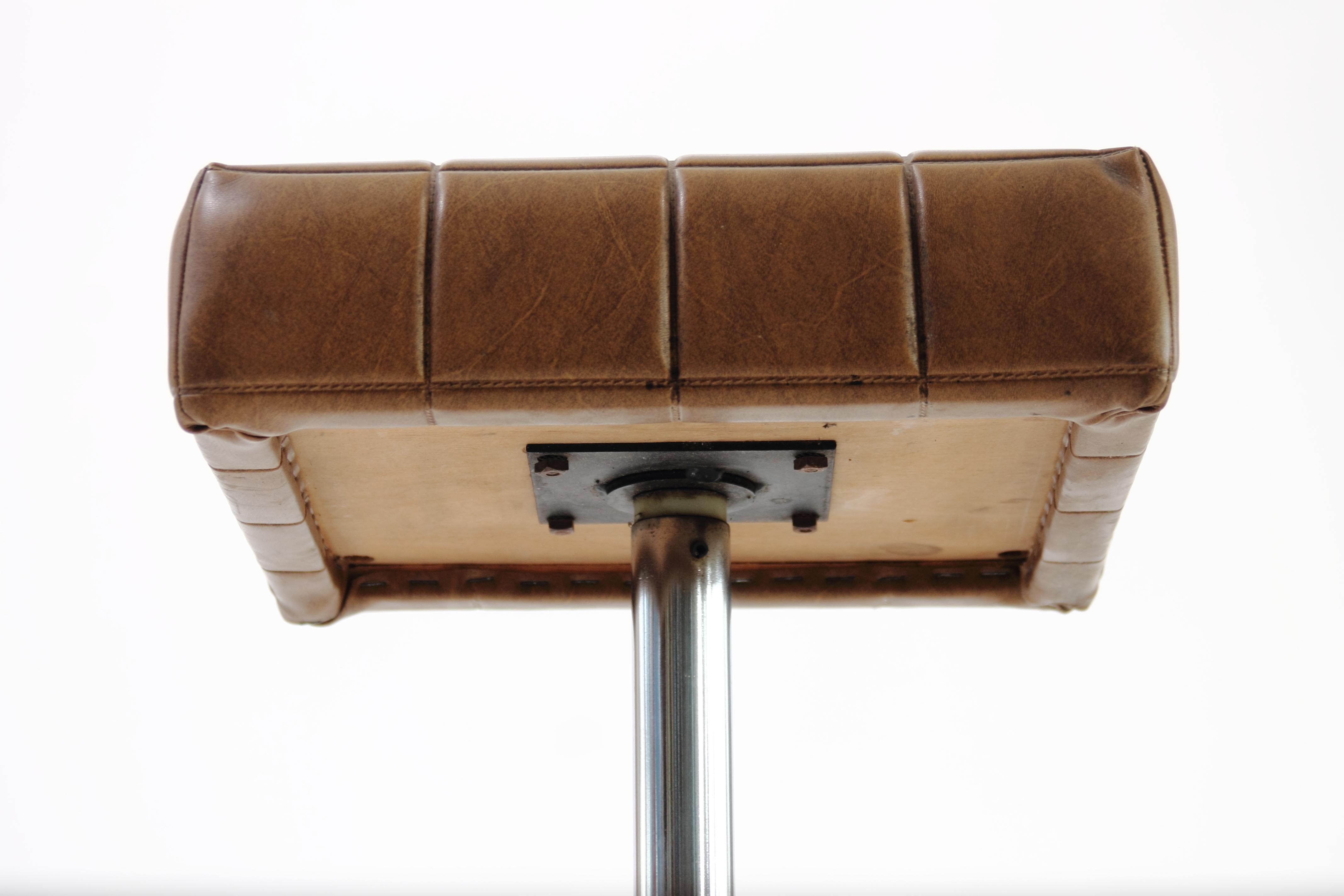 drehstuhl drehhocker 60er 70er jahre hocker sitz stuhl strandholzshop vintage interior design. Black Bedroom Furniture Sets. Home Design Ideas