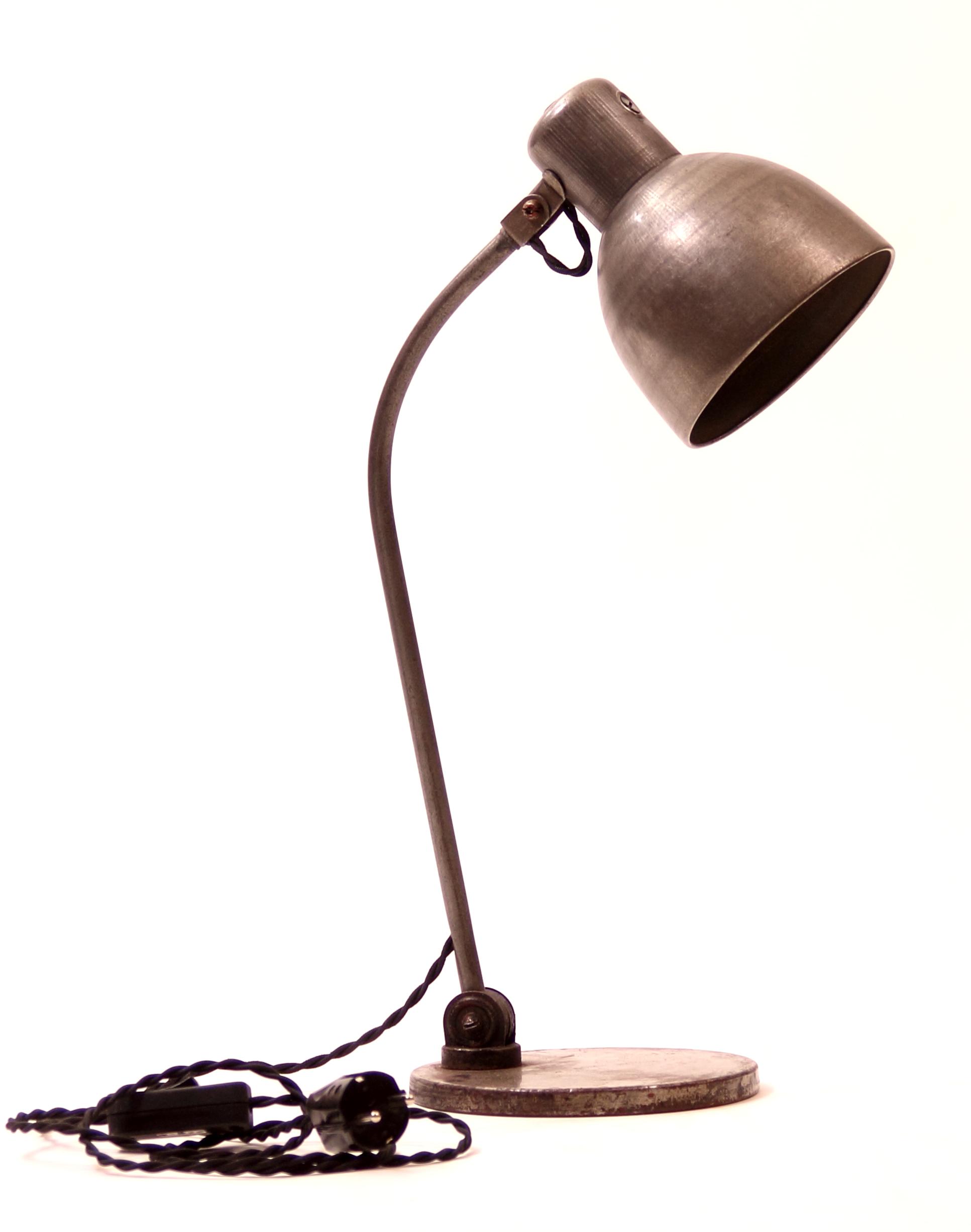 industrie lampe arbeitsleuchte tischlampe leselampe. Black Bedroom Furniture Sets. Home Design Ideas