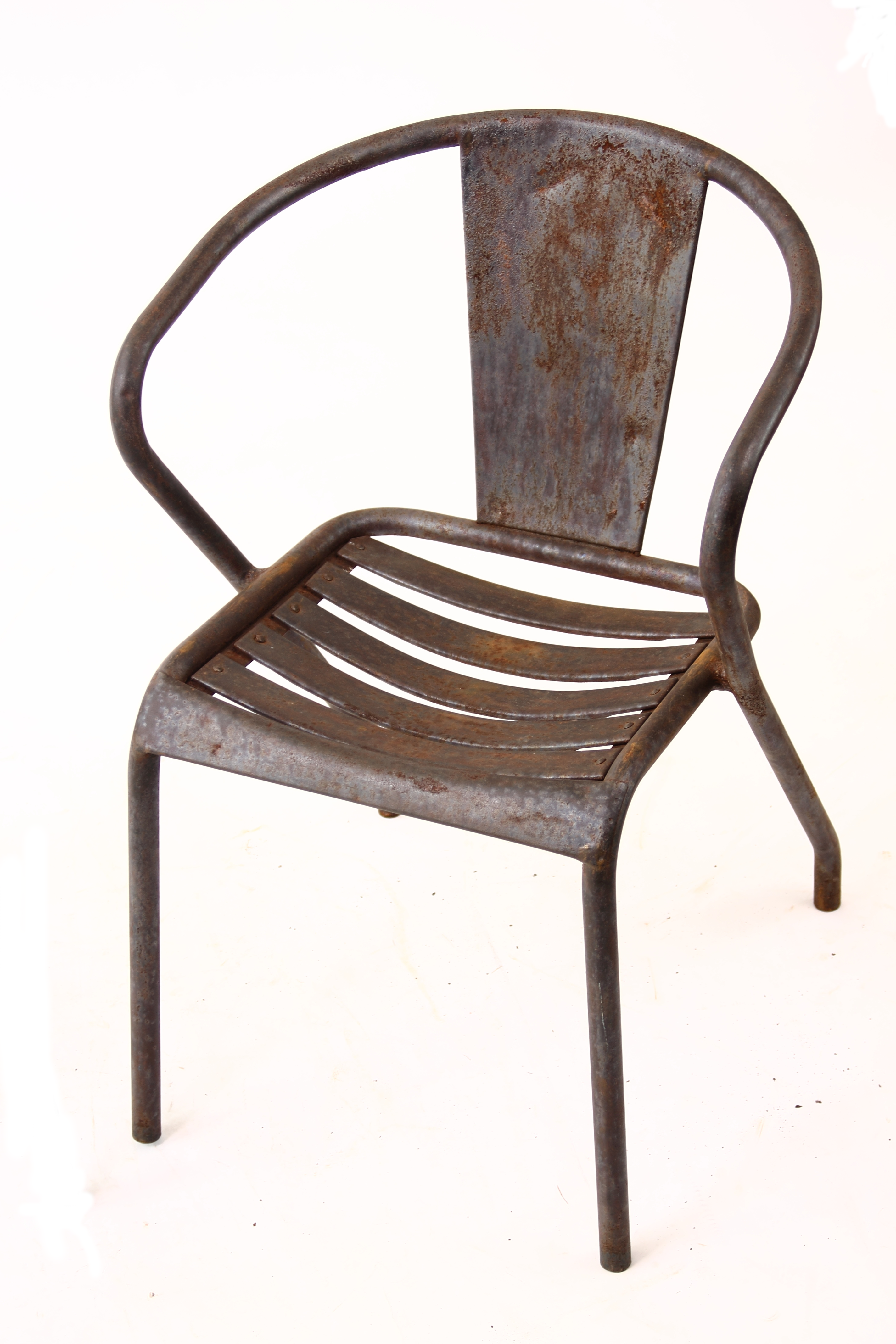 copper rentals burnt vintage side tolix chair chairs the reserve