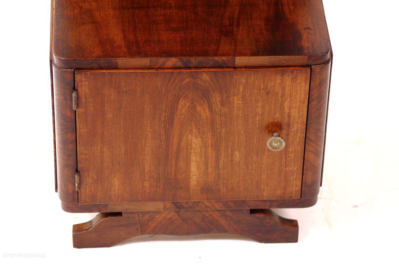 art deco beistellschrank aus frankreich strandholzshop vintage interior design. Black Bedroom Furniture Sets. Home Design Ideas