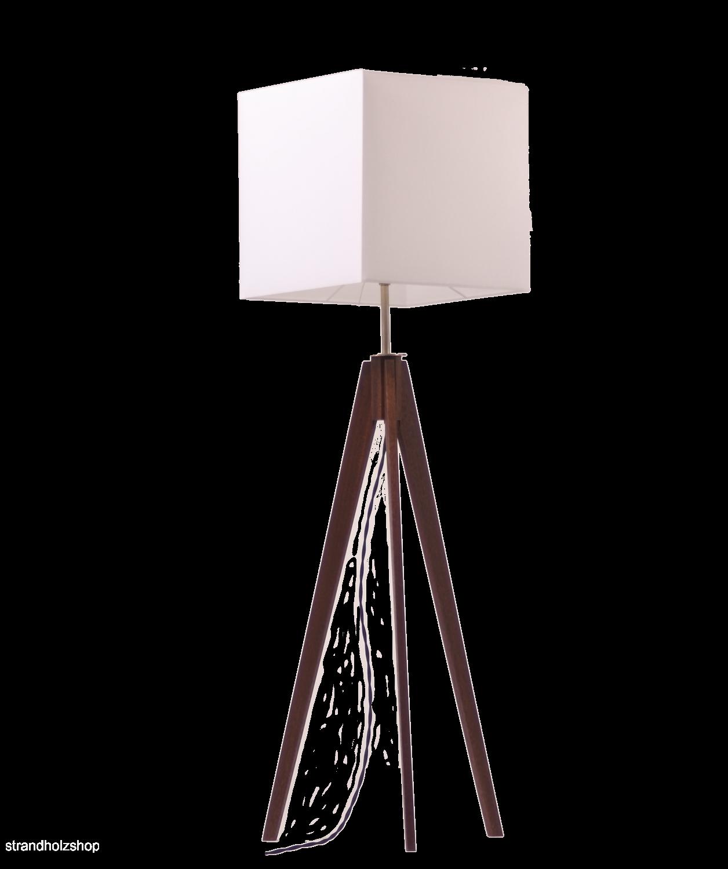 dreibein lampe holz tripod strandholzshop vintage interior design. Black Bedroom Furniture Sets. Home Design Ideas