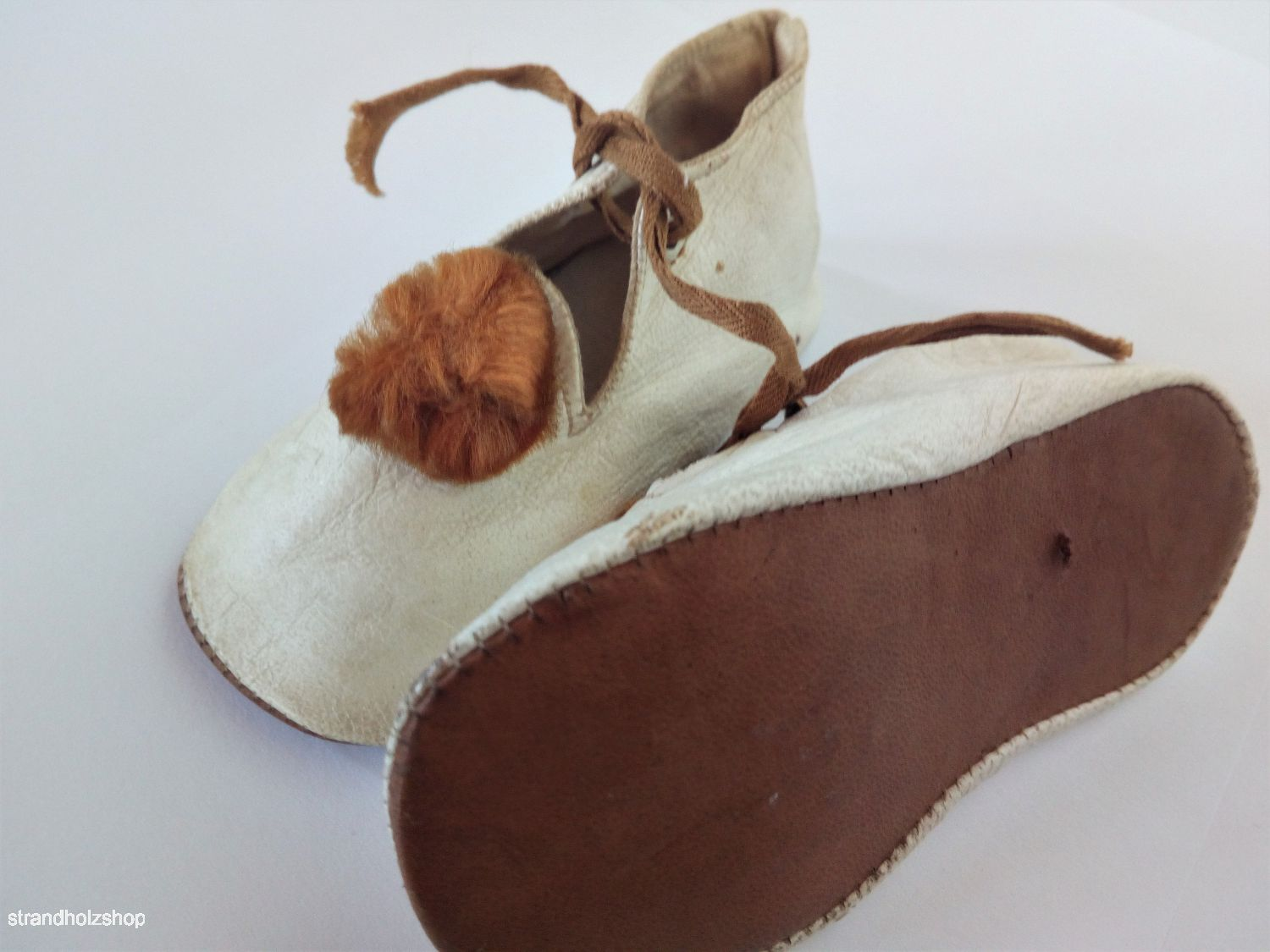 Children's Shoes Baby Vintage Leather Decoration