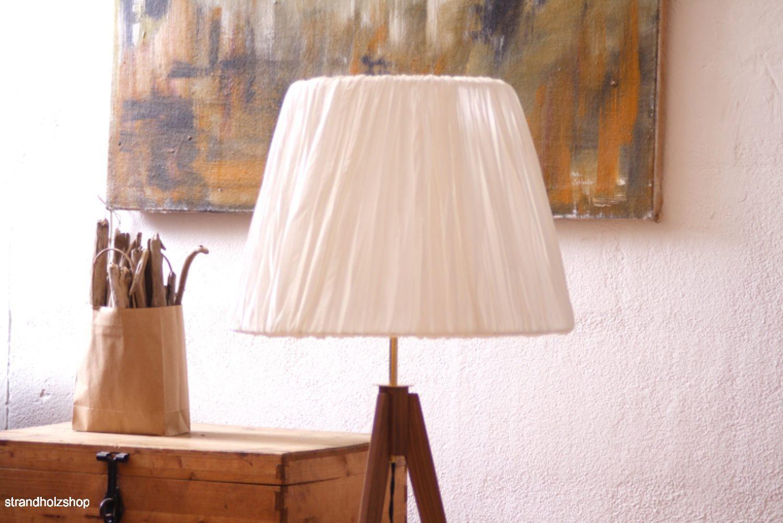 dreibein holz stehlampe tripodlampe im stil 50er 60er jahre designleuchte lampe ebay. Black Bedroom Furniture Sets. Home Design Ideas