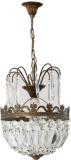 Chandelier Lamp Art Deco Chandelier Ceiling Lamp Crystal France # 2